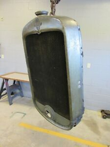 Chevrolet Grill Shell Honeycomb Radiator Barn Find Rat Hot Rod Nice Early 1930 s