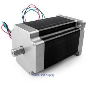 Home Automation 86x118 Stepper Motor Dual Shaft High Torque Low Noise vibration
