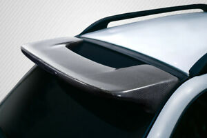 Carbon Creations Sti Look Roof Spoiler 1 Piece For 1993 2001 Impreza 5dr Wagon