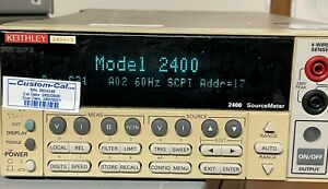 Keithley 2400 Source Meter In Excellent Condition calibrated In 2020