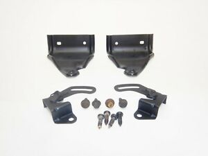 Jeep Wrangler Tj 97 02 Rear Folding Seat Bracket Mount Set Pivot Hardware