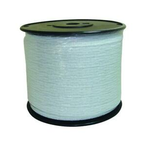 Wire 1 2x1312 Ft Electric Stainless Steel Heavy Duty Durable Polytape White New