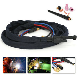 Wp20 12 5 25 250amp Water cooled Tig Welding Torch Complete Flexible Head Body