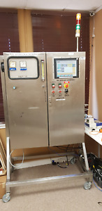 Stainless Steel Rittal Control Panel With Rslogix 5000 Plc Others For Training