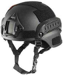 OneTigris MICH 2000 Style ACH Tactical Helmet with NVG Mount and Side Rail $66.23