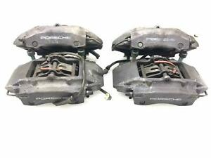 Porsche Boxster 986 Brembo Brake Calipers set Of 4 Front Rear Only 44k Miles