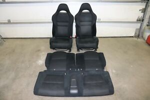 Rare 2005 2006 Acura Rsx Front Rear Cloth Seats Srs Airbag Dc5 Integra