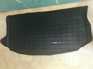 Weathertech Cargo Liner Trunk Mat For Kia Soul 2010 2013 Black Used Vg