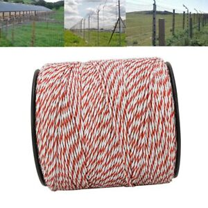 Portable Electric Fence Polywire 500m 1640 Ft Portable Electric Livestock Fence