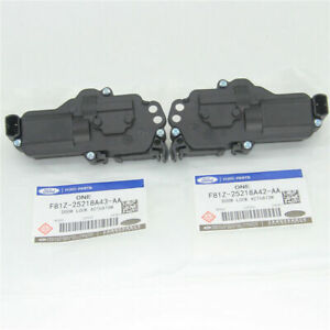 One Pair Power Door Lock Actuators Front Rear Left Right For Ford Expedition