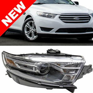 For 2013 2014 Ford Taurus Headlight Right Passenger Side Head Lamp Rh Assembly