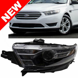 For 2014 2015 2016 Ford Taurus Headlight Left Driver Side Head Lamp Lh Assembly