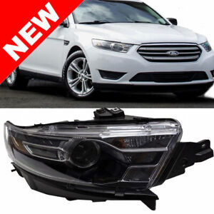 For 2014 2015 2016 Ford Taurus Headlight Right Passenger Side Head Lamp Assembly