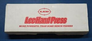Lee Hand Press 90685 NOS in box $79.99