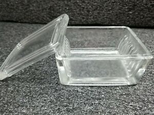 Heavy Lab Glass Slide Dish W Lid Microscope Staining Dish Soda Lime Glass