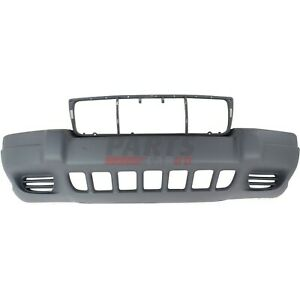 New Bumper Cover Textured Front Fits 99 03 Jeep Grand Cherokee 5eu79zspab