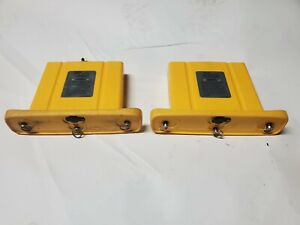 2 Battery Compartments Holders For Metrotech Locator Vloc 9800 See Listing
