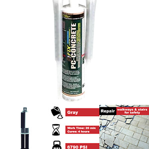 Pc Products 72561 Pc concrete Two part Epoxy Adhesive Paste For Anchoring And