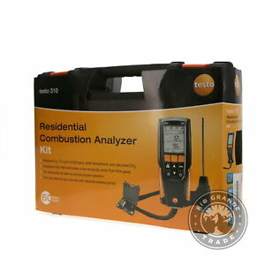 Open Box Testo 0563 3100 310 Combustion Analyzer For Residential Applications