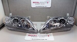 Toyota Camry Se 2007 2009 Left Right Front Headlight Set Genuine Oem Oe