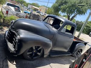 1954 Chevrolet 3100 3 Window Ls 5 3l Engine unfinished Build Nice
