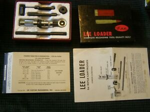 35 Rem Vintage Lee Loader Remington Original Complete Reloading Tool Ever Used ? $129.87