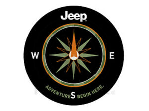 Jeep Wrangler Liberty P225 75r16 Adventure Begins Here Spare Tire Cover