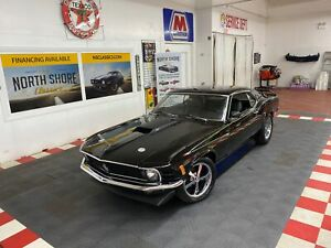 1970 Ford Mustang Sportsroof Fastback 302 V8 Engine Auto Trans Black Ford Mustang With 29 383 Miles Available Now