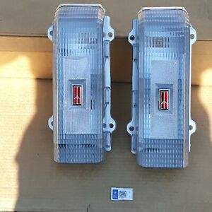 1986 1987 1988 Oldsmobile Cutlass Custom Clear New Tail Lights