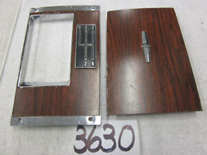1969 Camaro Console 4 Speed Shifter Plate Forward Plate Gm