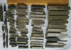 Lathe Turning Cutter Tool Steel Bits Machine Lot Of 61 Mixed