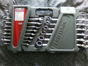 Craftsman 24 Piece Combination Wrench Set Metric Polished New 49827