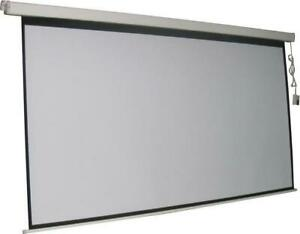 Electric Projection Screen 16 9 Ratio Screen Size 87 X 49 With Rf