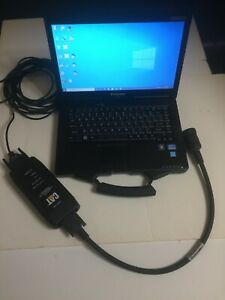 Diesel Diagnostic Laptop With Caterpillar Communication Adapter 275 5121