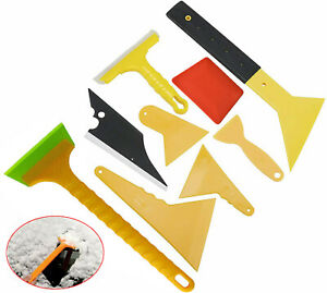 9 Pcs Car Window Film Tint Tools Auto Wrapping Scraper Squeegee Installation Kit