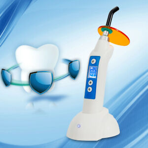 Dental Dentist Led White Curing Lamp Cordless Curing Light Main Unit 1500mw cm