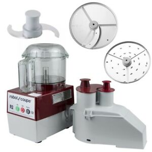 New In Box Robot Coupe R2n Clr 1 Speed Cutter Mixer Food Processor W 3 Qt Bowl