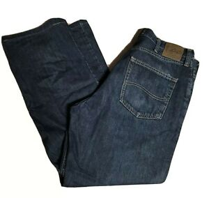 Mens Lee Relaxed Fit Jeans 36x32 Straight Cotton $19.98