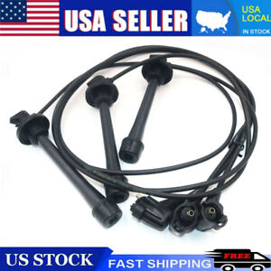 Oem For Toyota 19037 62050 4runner T100 Tacoma Tundra 3 4l Spark Plug Wire Set