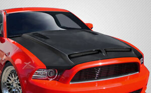 2013 2014 Ford Mustang 2010 2014 Mustang Gt500 Carbon Gt500 Hood 109260