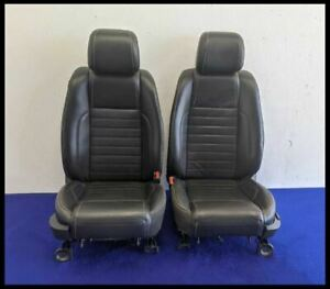 2013 2014 Ford Mustang Driver Passenger Front Seats Bucket Coupe Leather