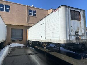 1980 40ft Refrigerated Trailer In Working Condition w Title Read Description