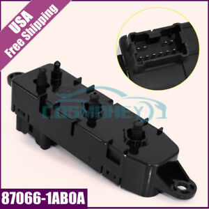 Front Left Driver Power Seat Control Switch Fits Nissan 13 16 Altima 08 13 Rogue