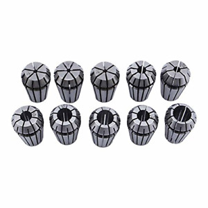 Ftvogue 10pcs Er16 1 10mm Spring Collet Set For Cnc Workholding Engraving Tool