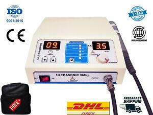 Therapeutic Digital Ultrasound Therapy 3mhz Knee Back Pain Relief Utsajl 302b