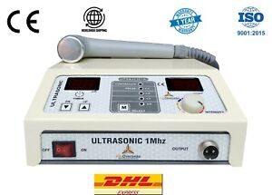 Physical Therapy Ultrasonic1mhz Ultrasound Light Weight Unit Model Utsajl 301a