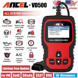 Vd500 Obd2 Scanner All System Abs Oil Epb Reset Diagnostic Tool For Vw Audi