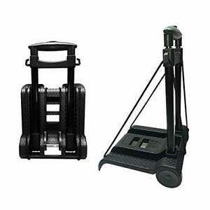 Portable Folding Hand Truck Lightweight Trolley Compact Utility Cart With By07