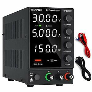 Dc Power Supply Variable Adjustable Switching Regulated Power 0 30v 0 5a