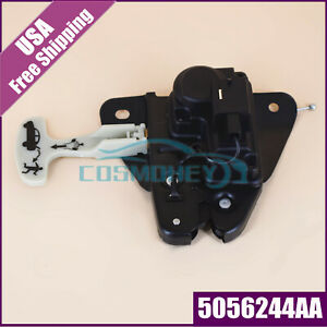 Tailgate Lock Trunk Latch Actuator 5056244aa For Chrysler 300 931 714 Black Usa
